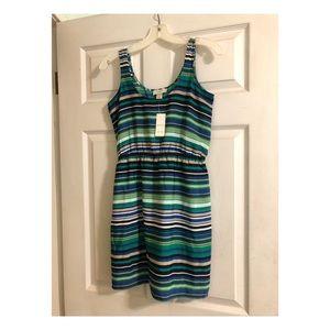 Striped Anne Taylor LOFT dress